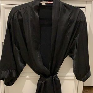 Victoria's Secret satin short robe